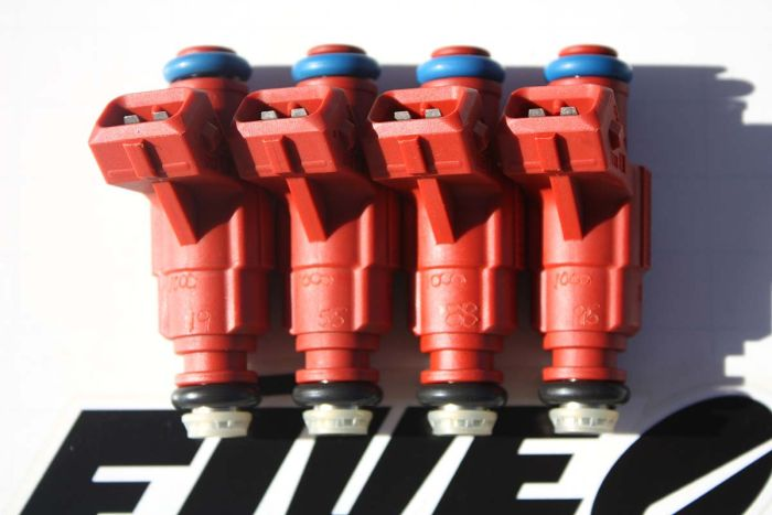 Upgraded Bosch Set Of 4 Fuel Injectors for Audi VW 1.8L Increased Horsepower